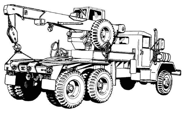 M54 5 Ton 6x6 Truck