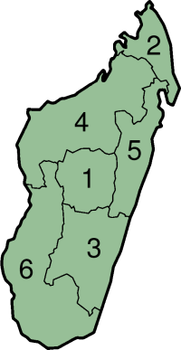 Carte Province Madagascar.Ranked List Of Malagasy Provinces Wikipedia