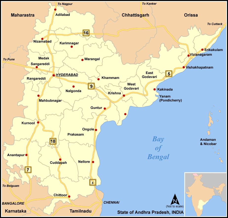 Pancharamalu Tour From Visakhapatnam