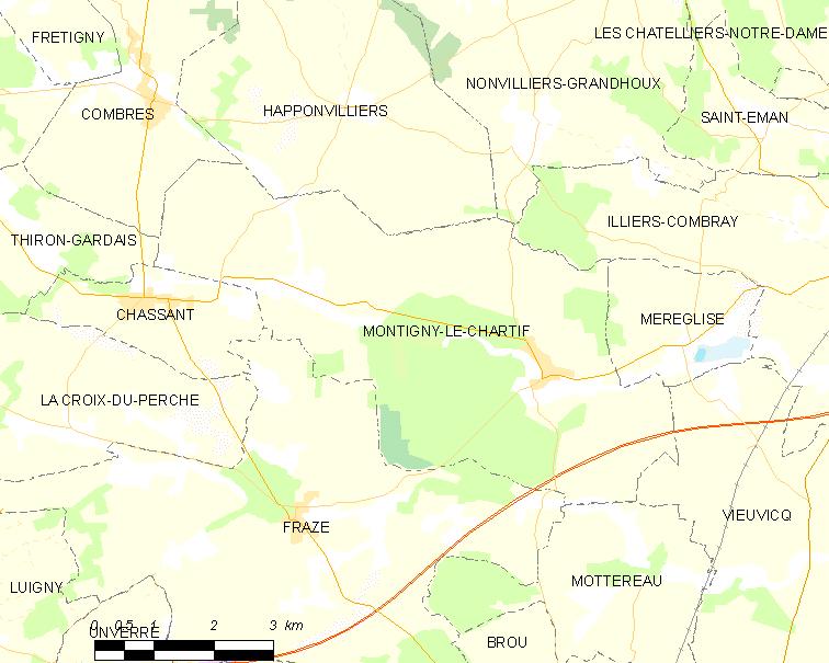 Montigny le chartif viquip dia l 39 enciclop dia lliure - Montigny les cormeilles code postal ...