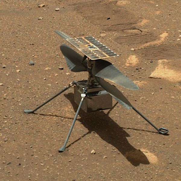 Mars helicopter on sol 46