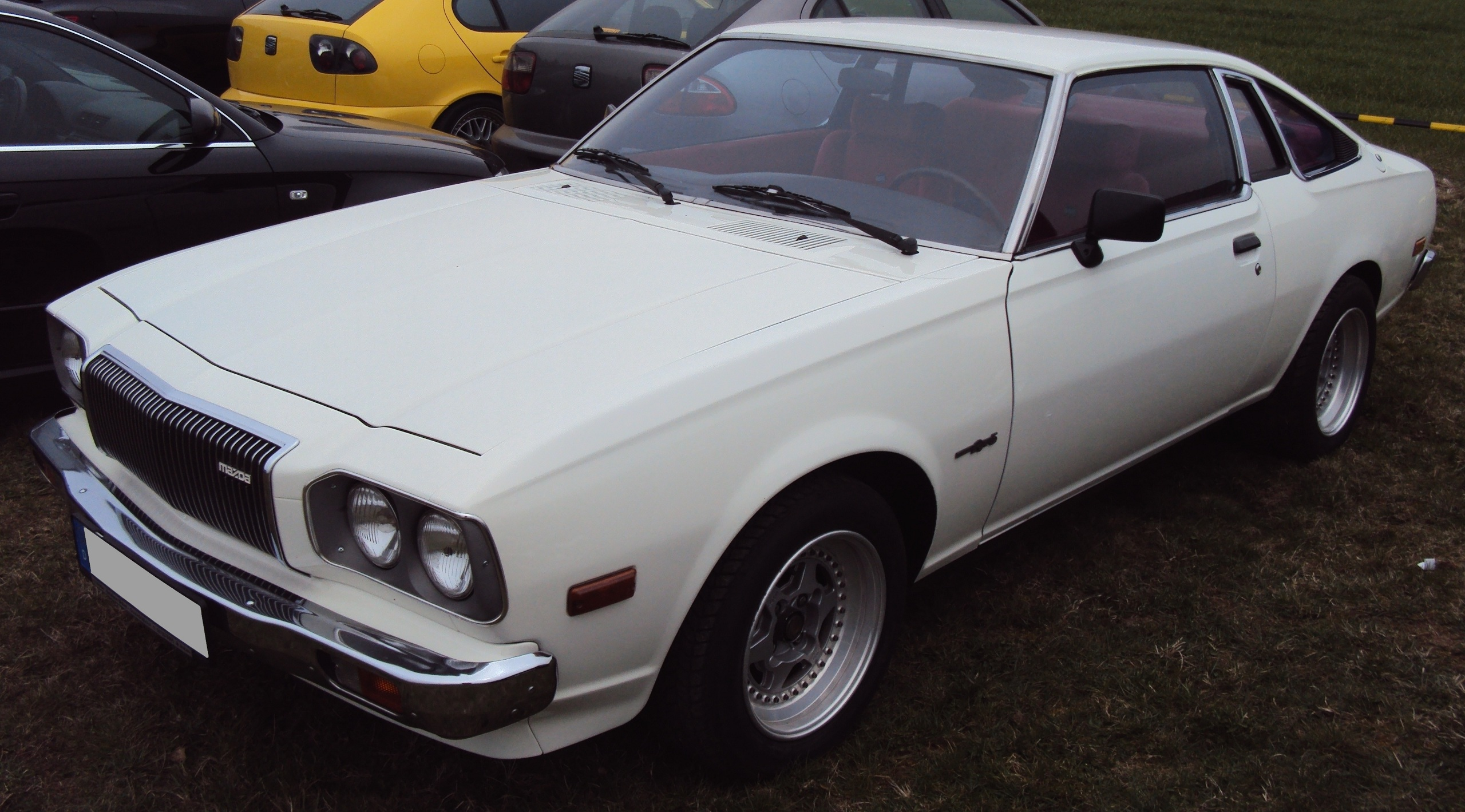 File Mazda Rx 5 White Front Jpg Wikimedia Commons