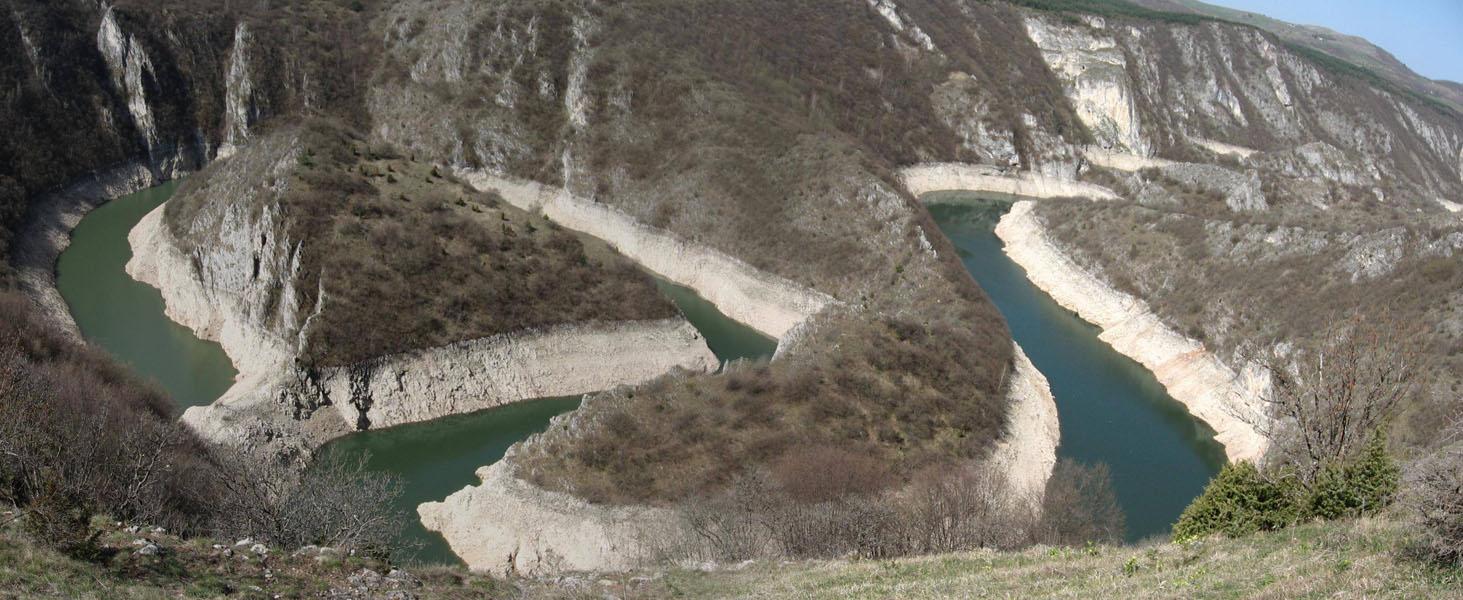 Kanjoni i klisure Meandri_uvca