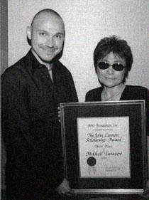 Universal Music Group's Svoy и Йоко Оно в офисе компании BMI (Нью-Йорк)