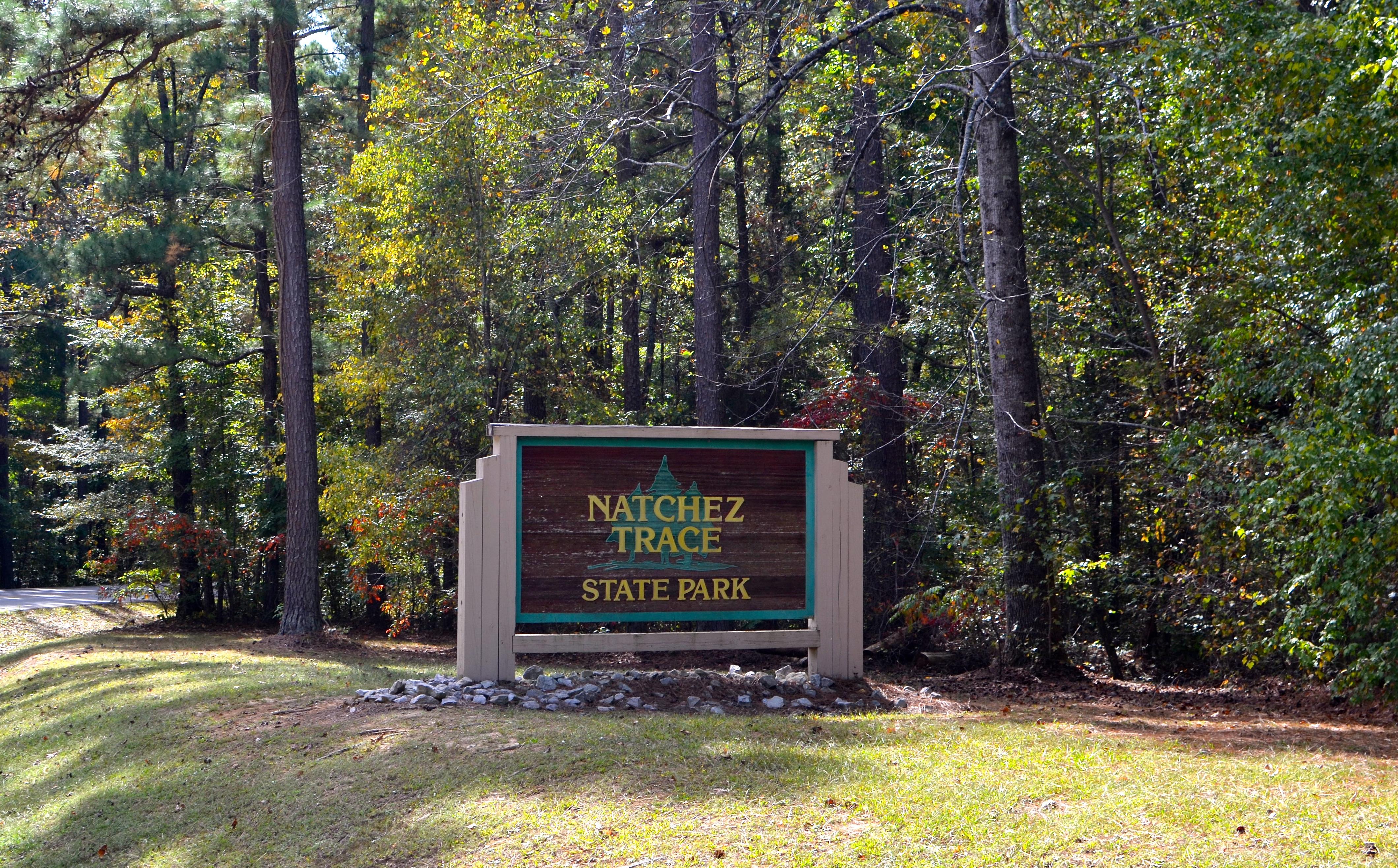 Natchez State Park Entrance Sign.JPG