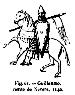 Image illustrative de l'article Guillaume II de Nevers