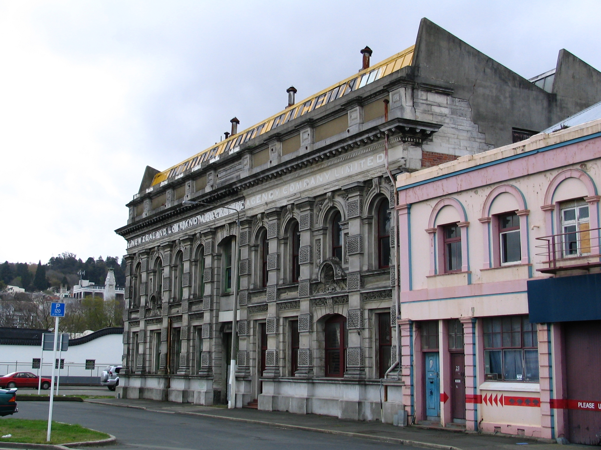 file new zealand loan and mercantile agency building