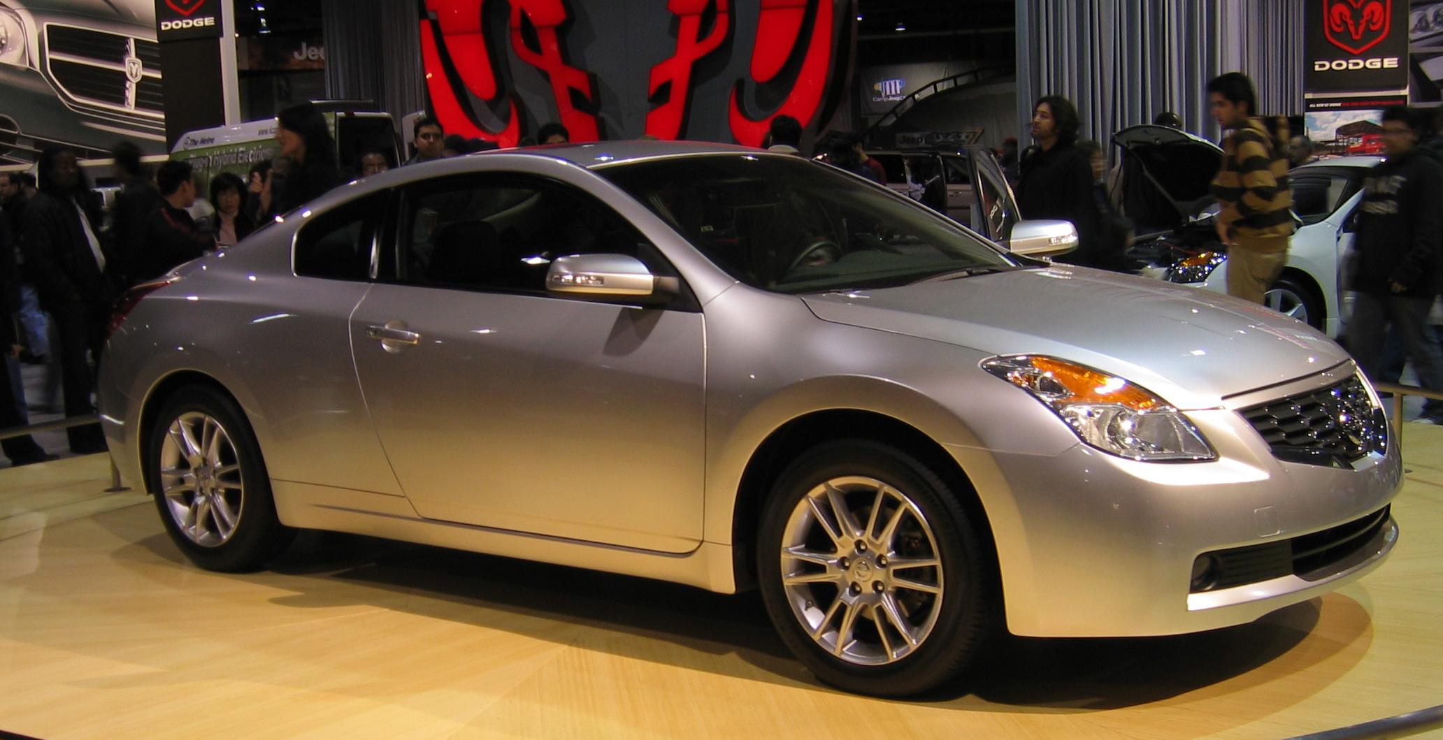 Amazing 2007 Nissan Altima Coupe 2064 X 1059 · 698 KB · Jpeg
