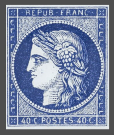 Rare Stamps - Ceres France's First Stamp