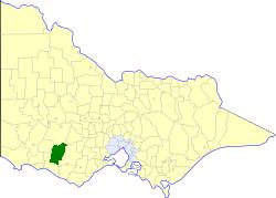 Shire of Mortlake Local government area in Victoria, Australia