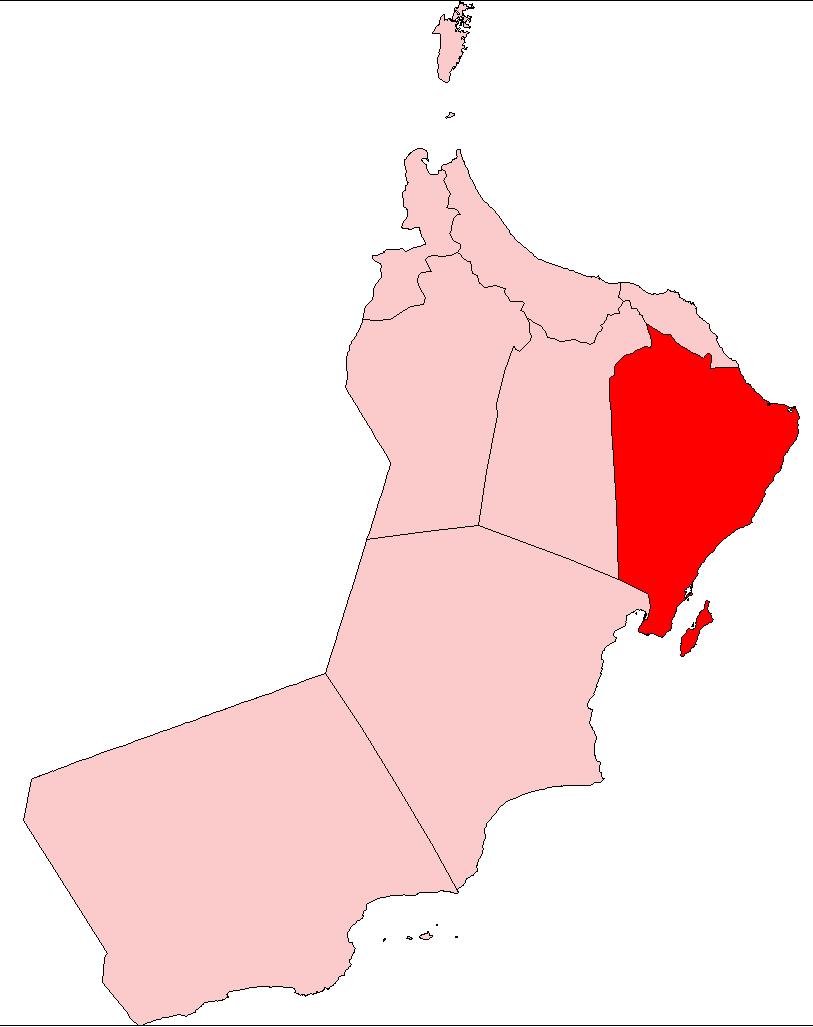 FileOman Ash Sharqiyah BordersPNG Wikimedia Commons - Oman map png