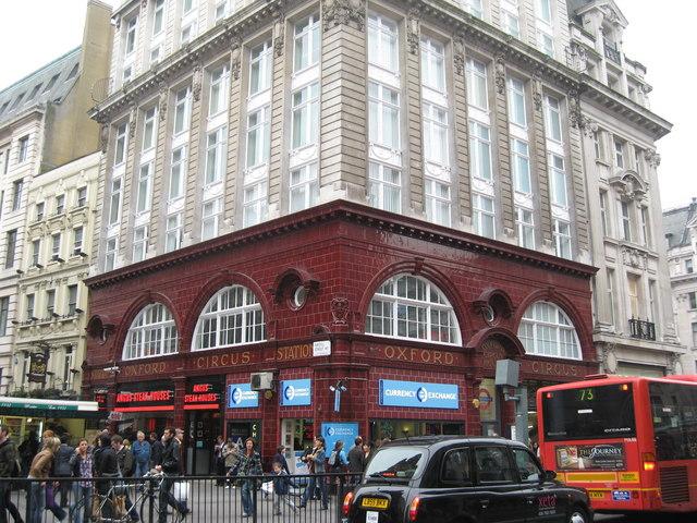 Oxford Street tube Station (Bakerloo Building) - geograph.org.uk - 1269094