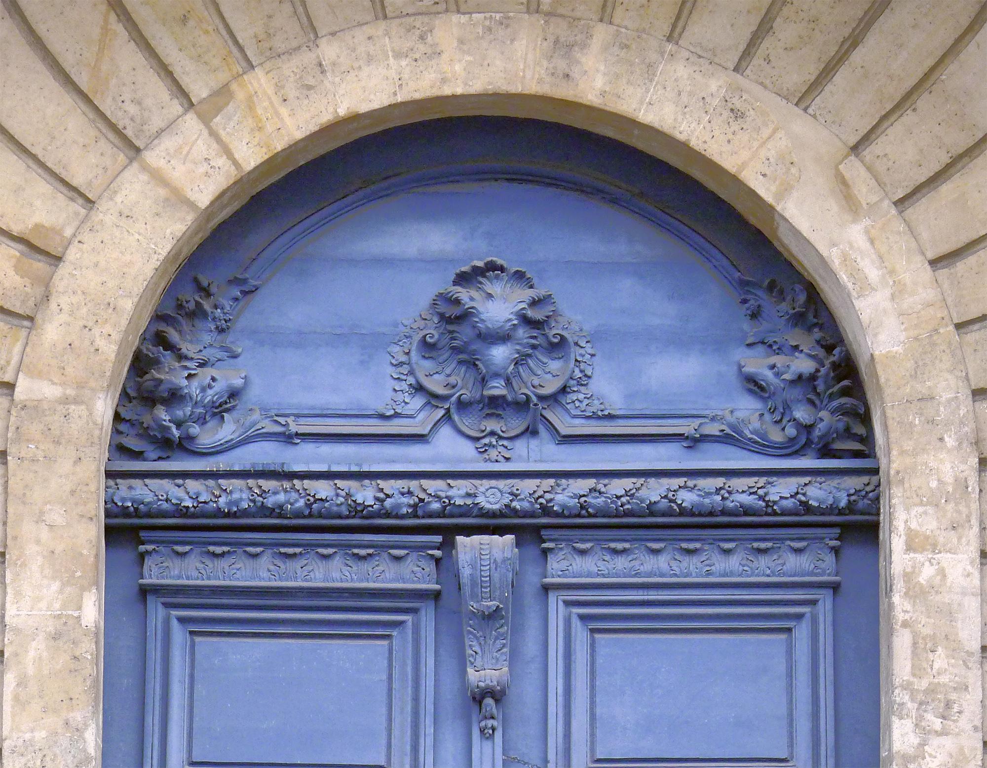 File:P1150039 Paris III rue de Turenne n°60 porte détail rwk.jpg ...