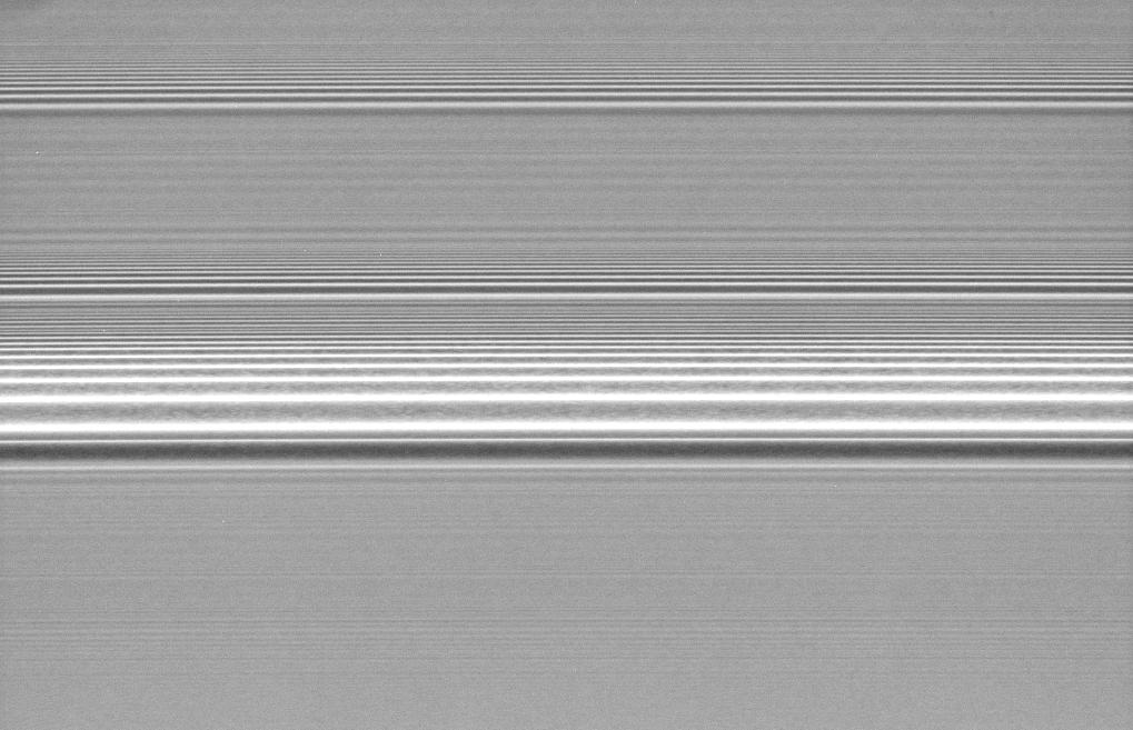 Saturn Rings Density Waves