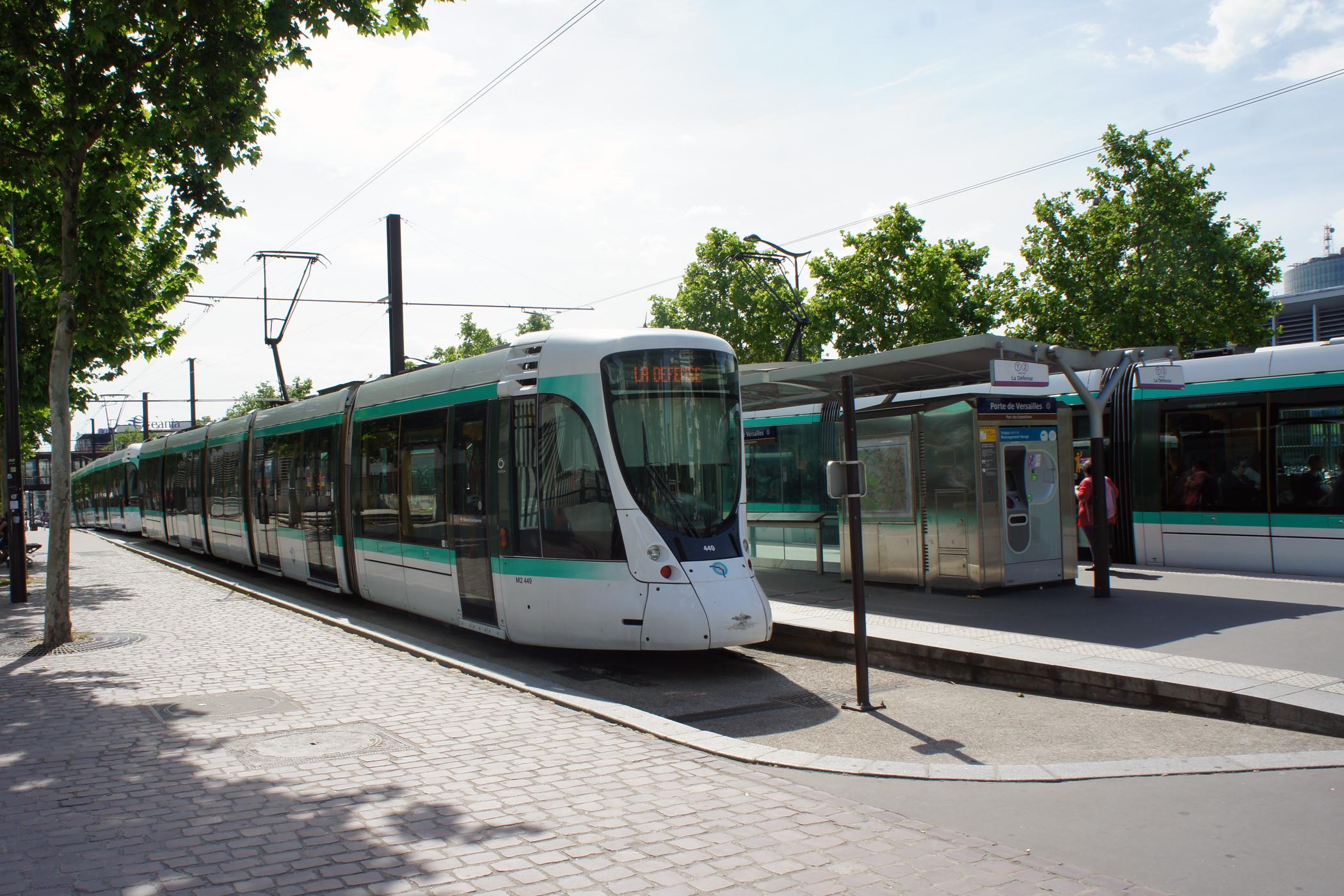 Plan Métro Tram Paris
