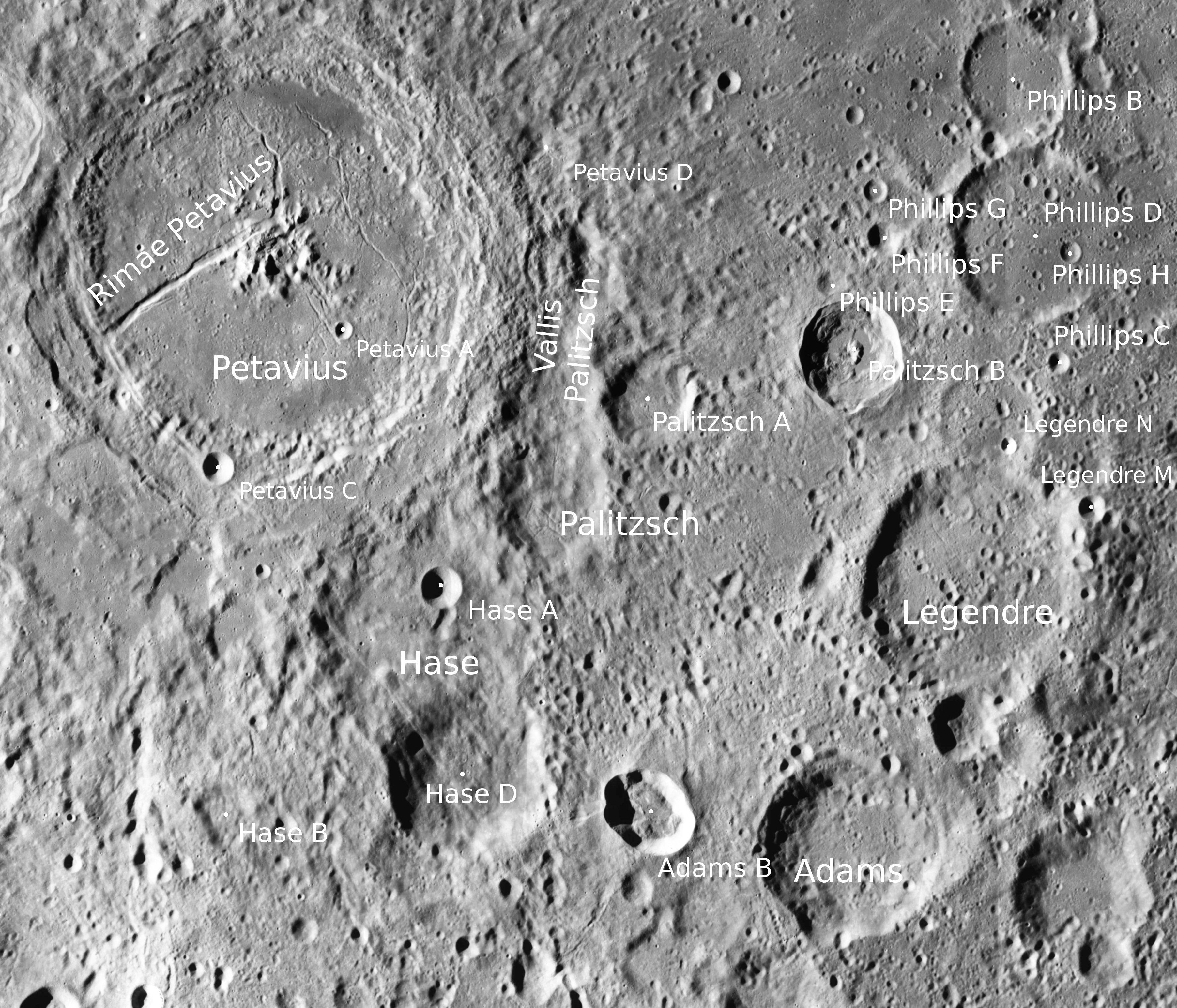 Petavius + Hase + Adams + Legendre - LROC - WAC.JPG