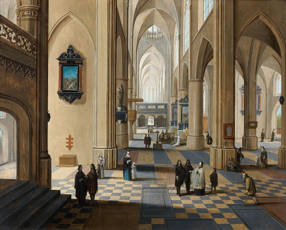 File:Pieter Neefs II, Frans Francken III - Interior of Antwerp ...
