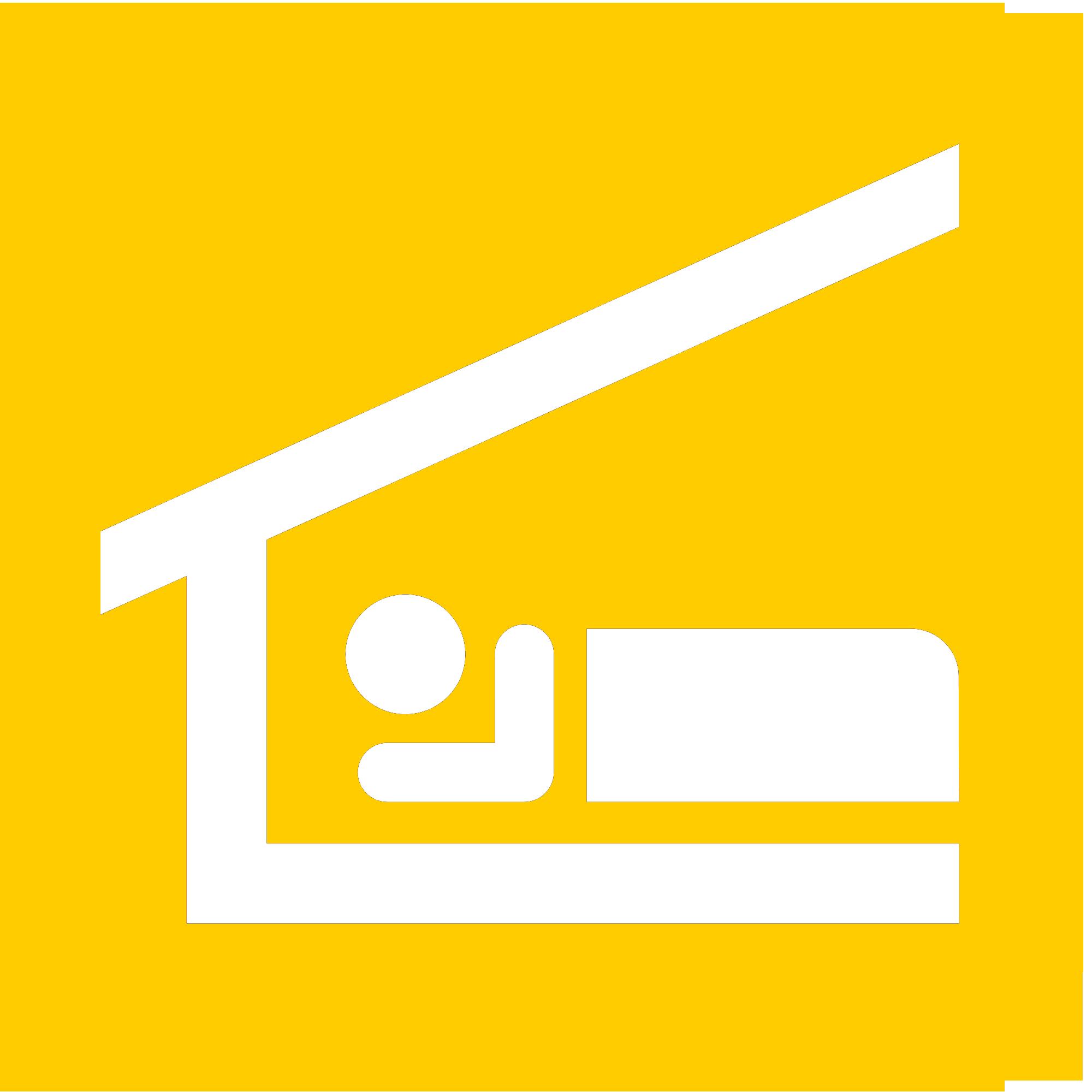 Piktogramm-bett-gelb.png