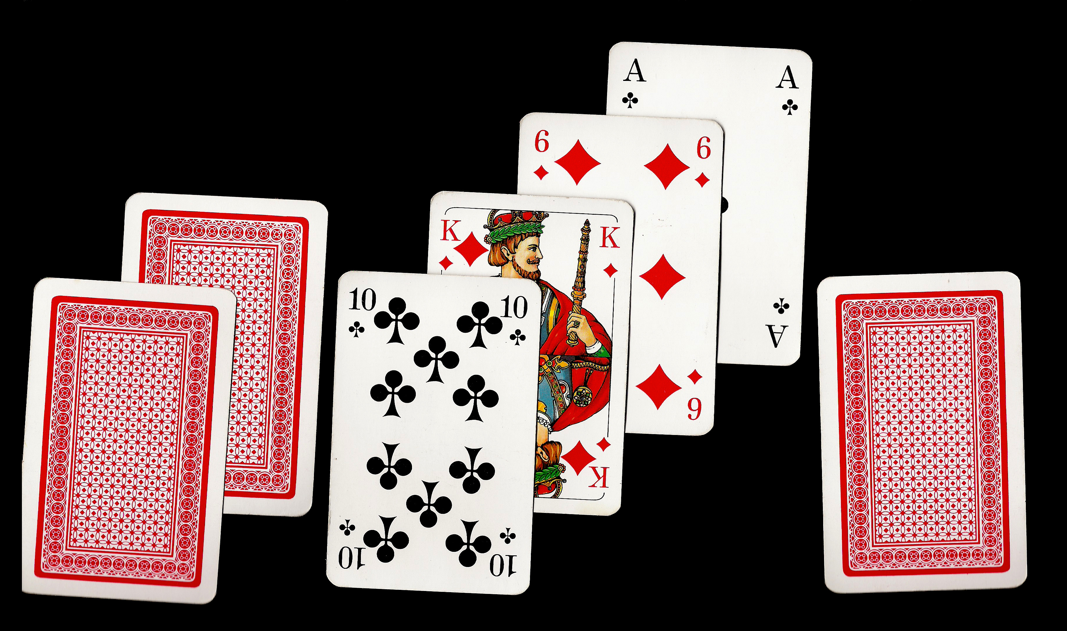 2 card stud poker