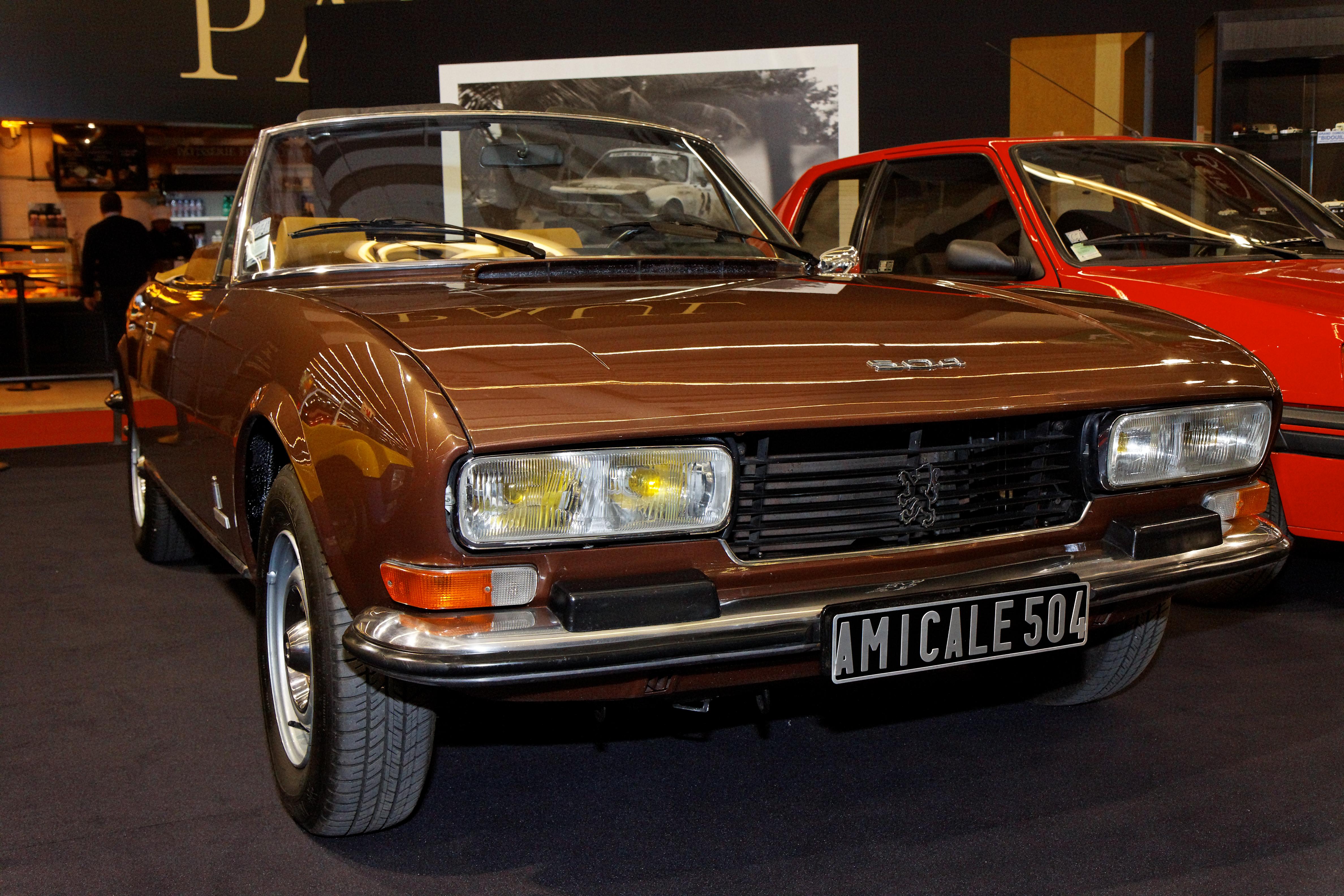 File Retromobile 2011 Peugeot 504 V6 Cabriolet 1977 001 Jpg