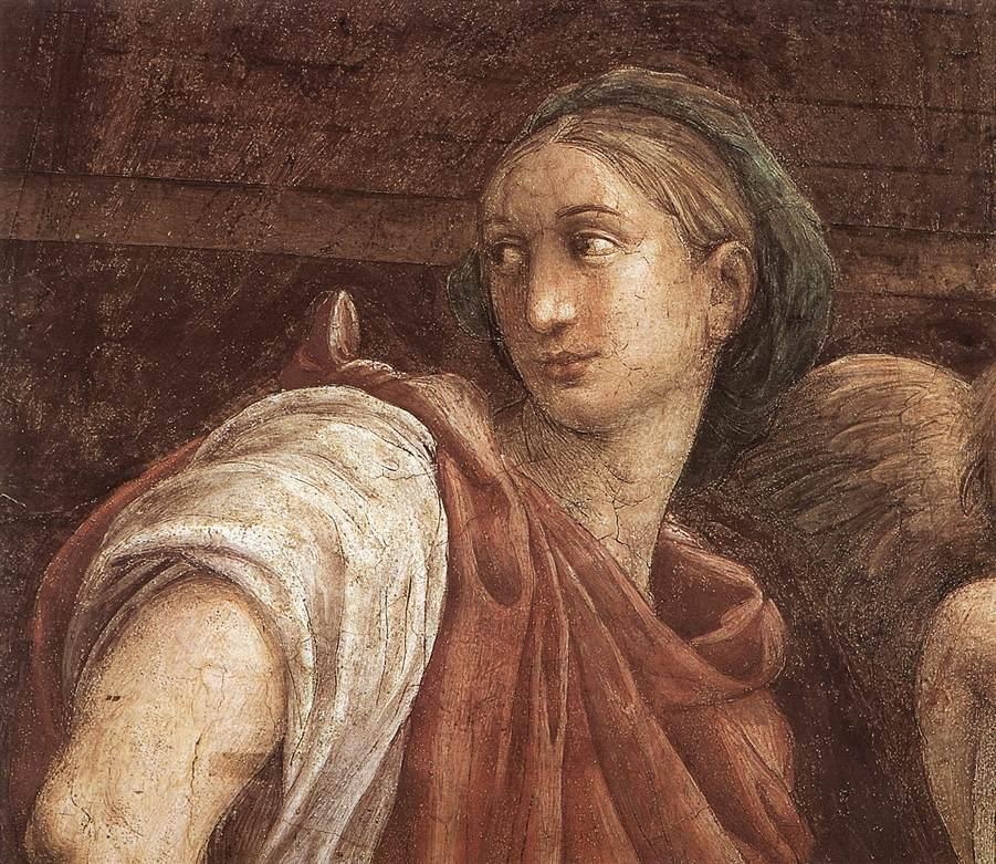 Le Sibille particolare di Raphael (Raffaello Sanzio Da ...