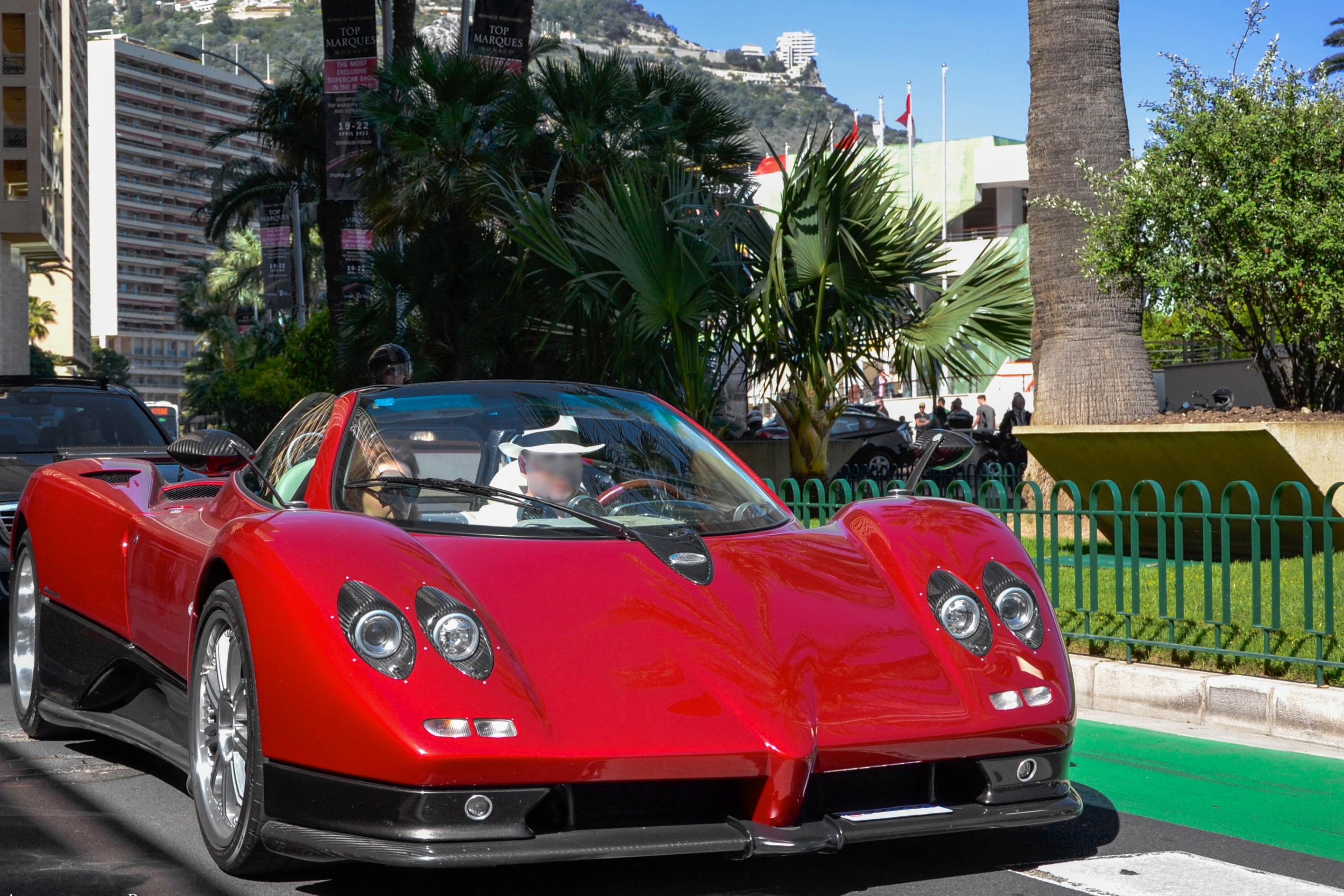 file:red pagani zonda roadster in monaco 2012 - wikimedia commons