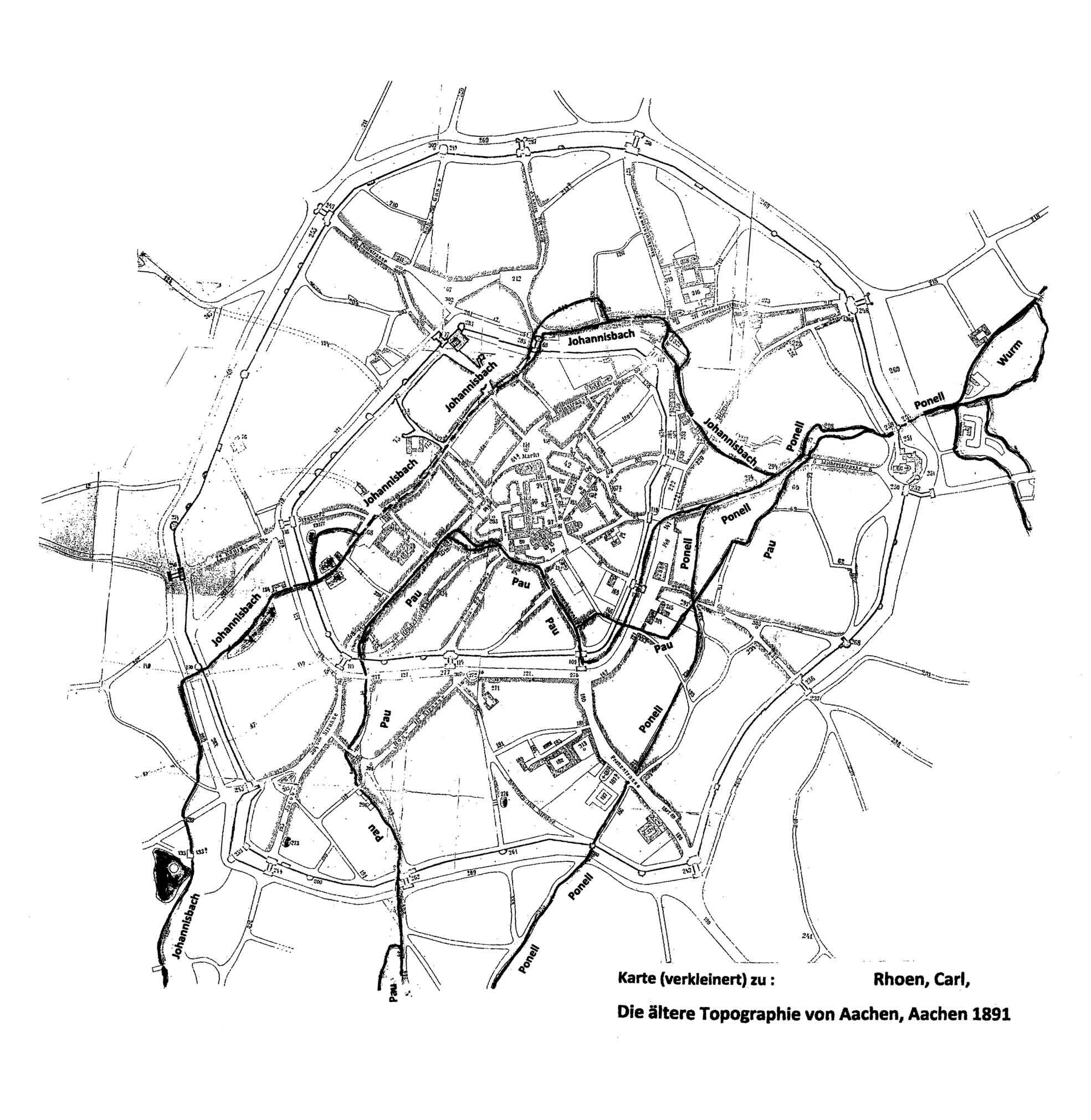 aachen karte File:Rhoen Die Aeltere Topographie von Aachen Karte.