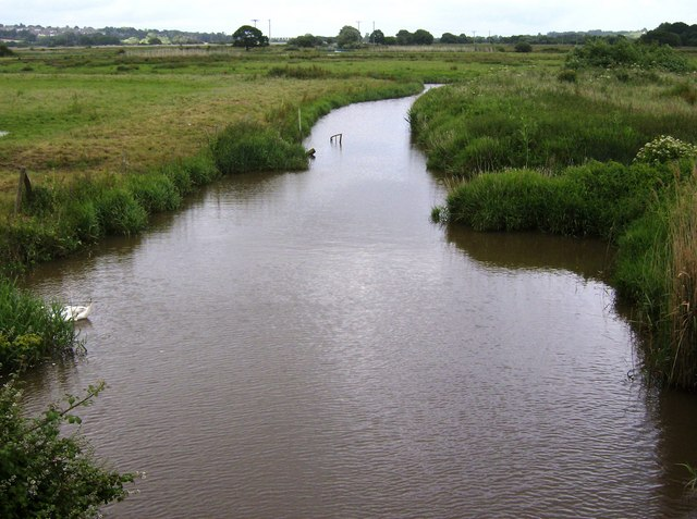 River Yar - geograph.org.uk - 484532