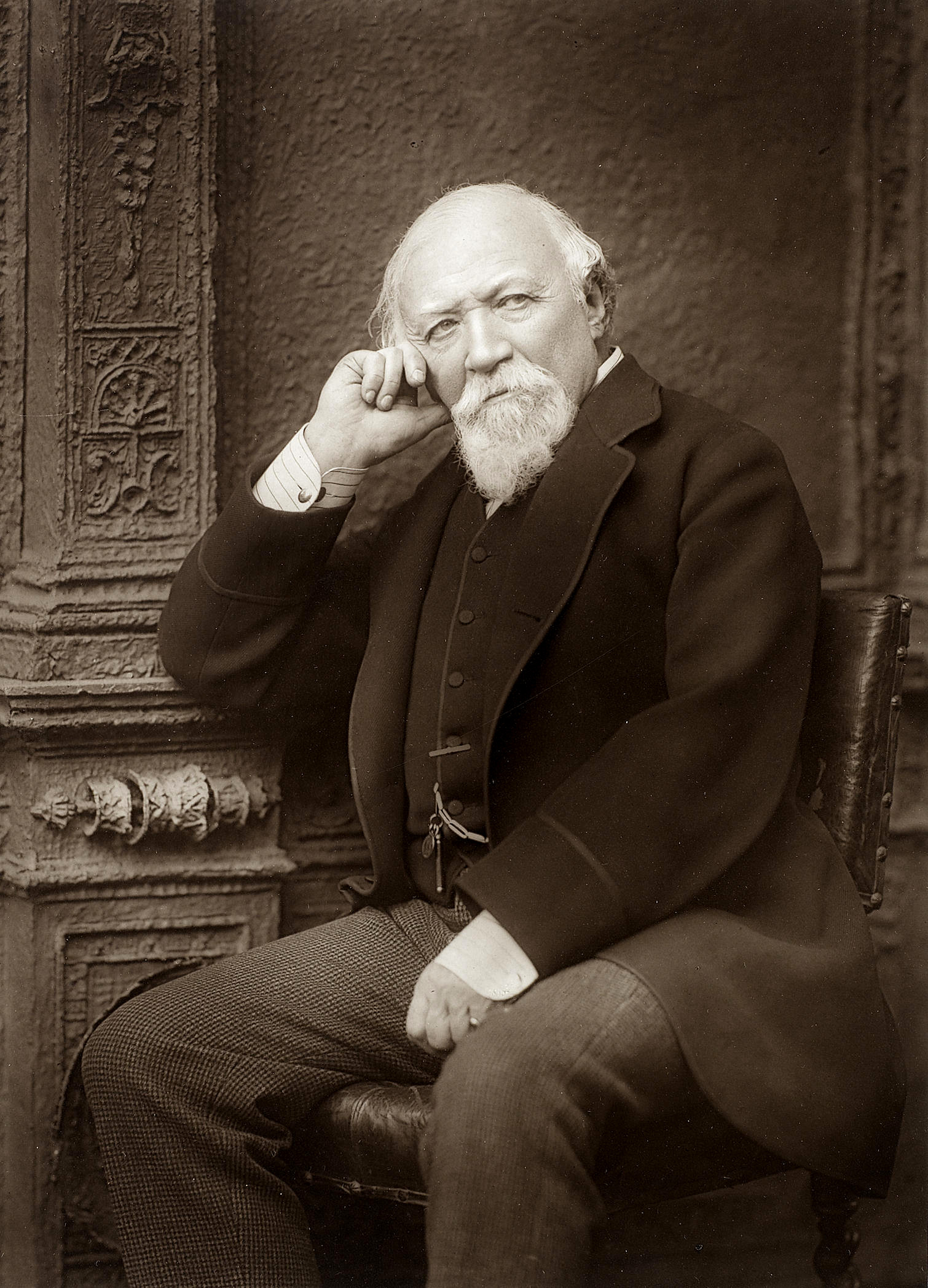 Portrait of Robert Browning