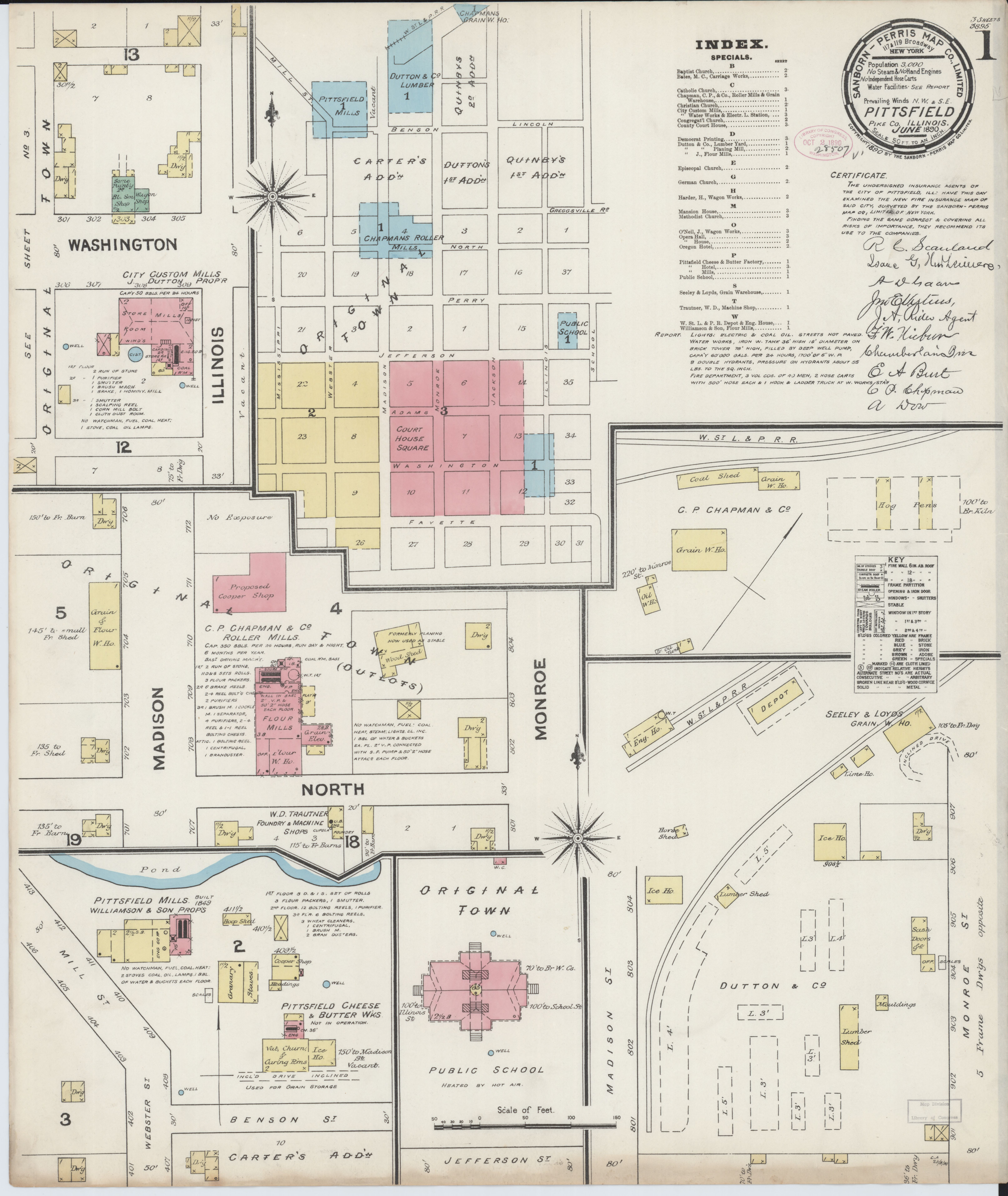 File Sanborn Fire Insurance Map From Pittsfield Pike County
