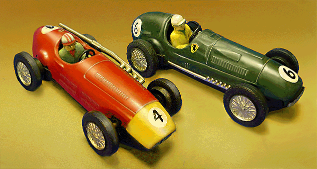 Tin Racing Car  Inch