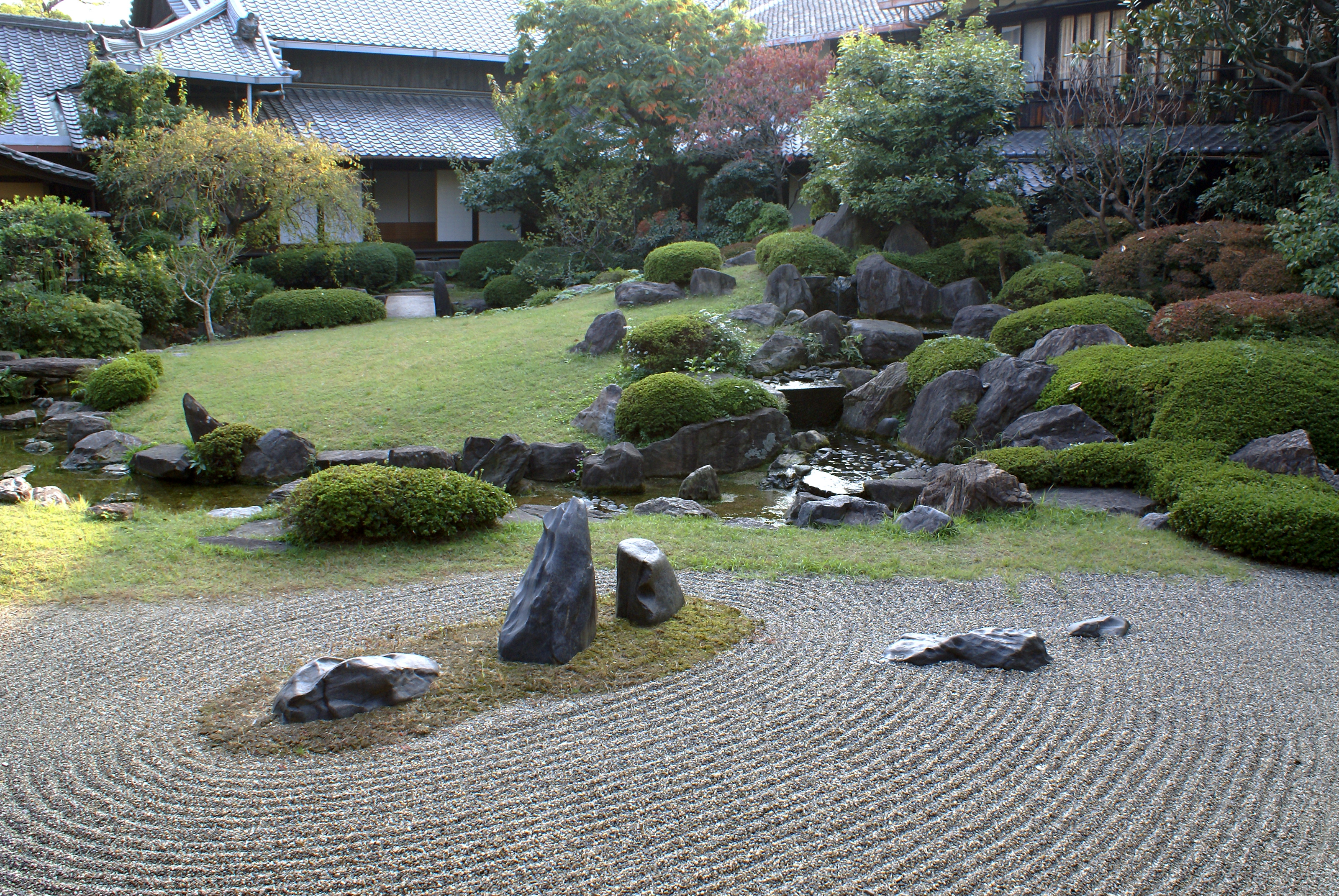 File shitennoj honbo wikimedia commons for Japanese meditation garden design