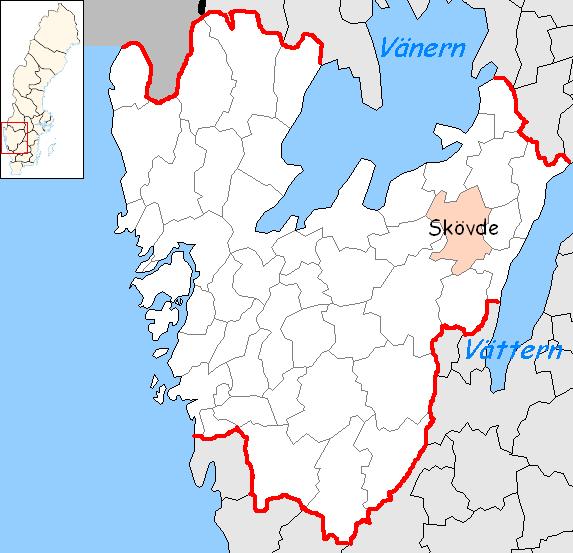 Skovde Municipality Wikipedia