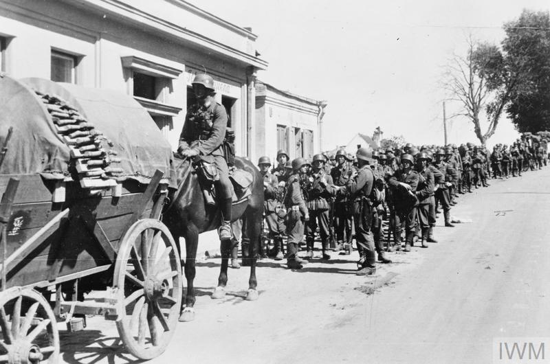Tropas alemãs em Kaunas, em 1941