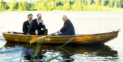 File:Tage Erlander and Nikita Khrushchev at Harpsund 1964 ...