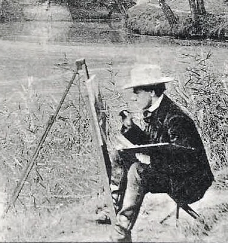 https://upload.wikimedia.org/wikipedia/commons/5/58/The_Artist%2C_1903%2C_Villeneuve_l%27Etang%2C_detail.jpg