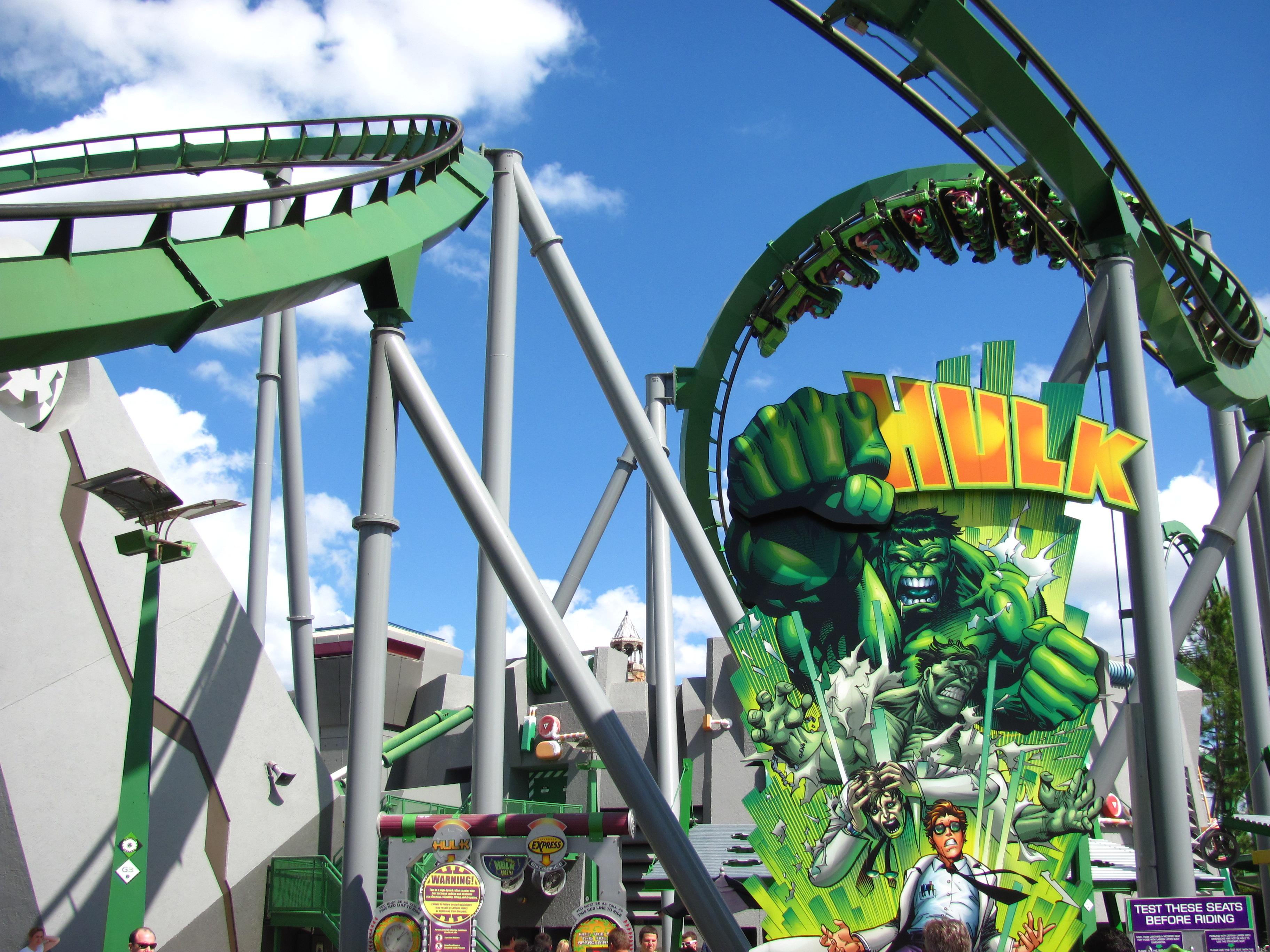 The Hulk Universal Islands of Adventure