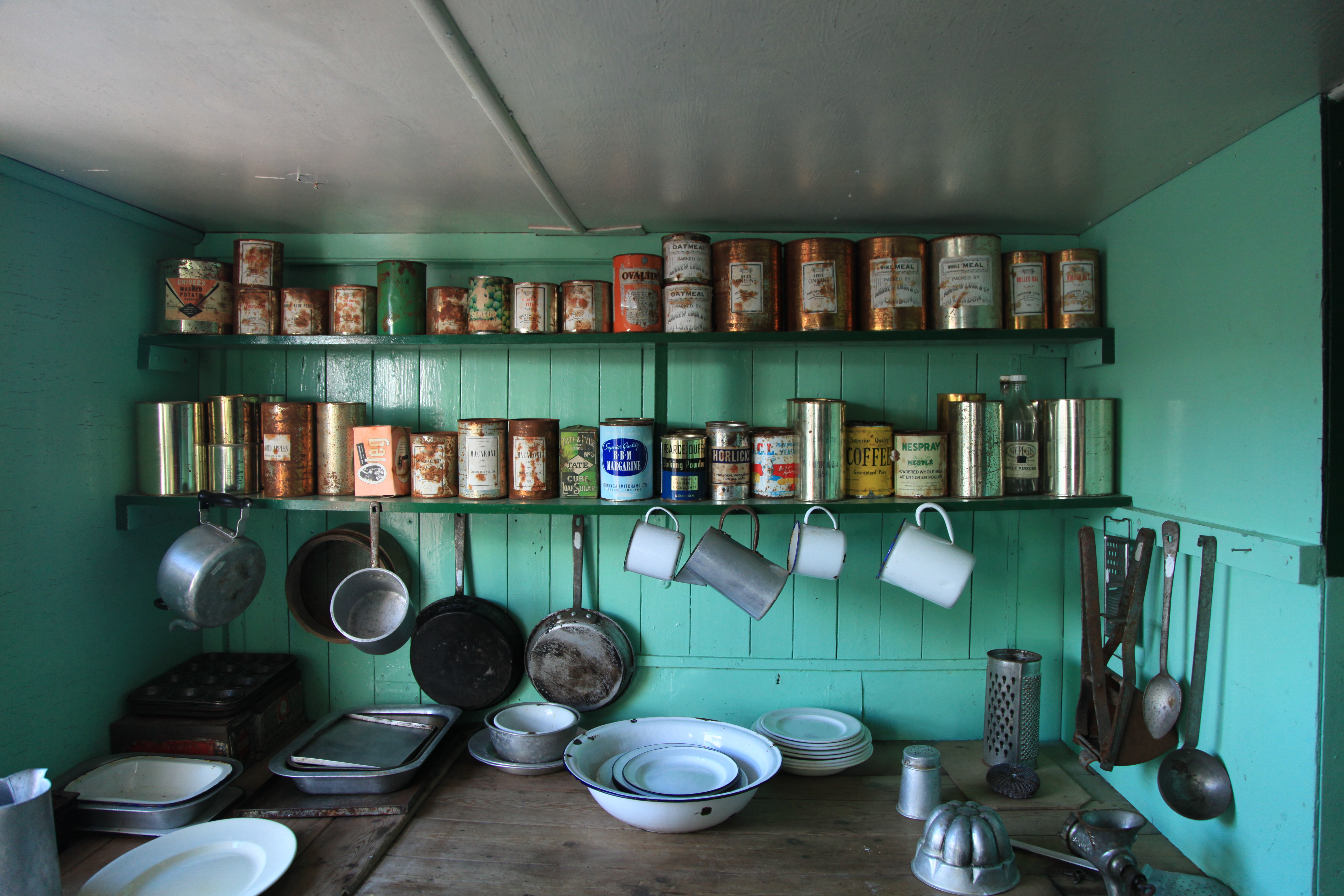File:The Kitchen at Bransfield House, British Base A (6065701529 ...