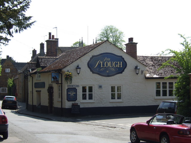 The Plough Inn, Bodicote - geograph.org.uk - 168474