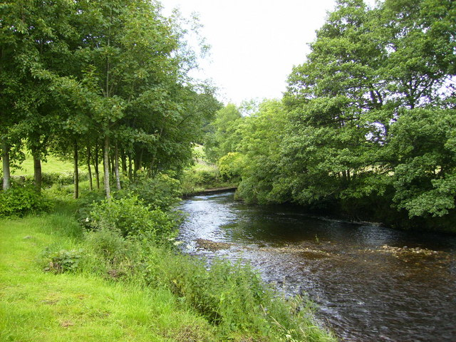 The River Dee in Dentdale - geograph.org.uk - 508983