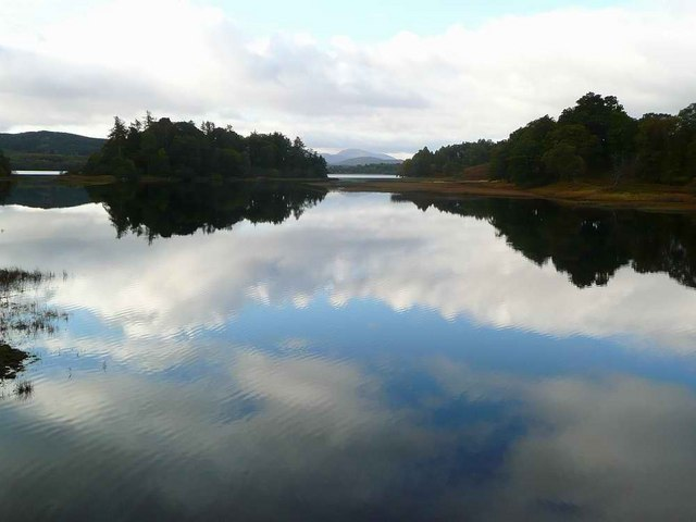 The Spey at Loch Insh - geograph.org.uk - 1527104