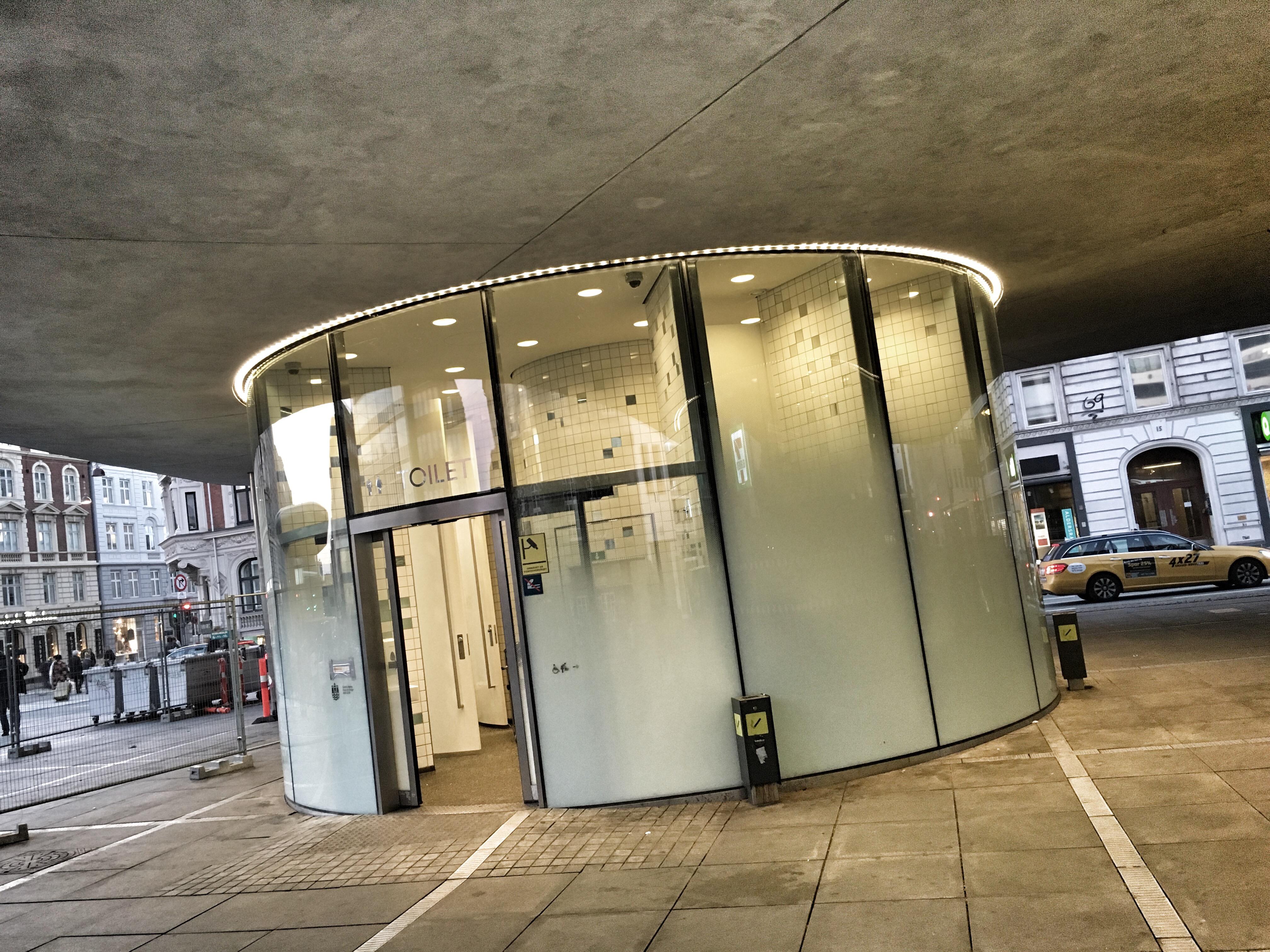 Nørreport Station toilet