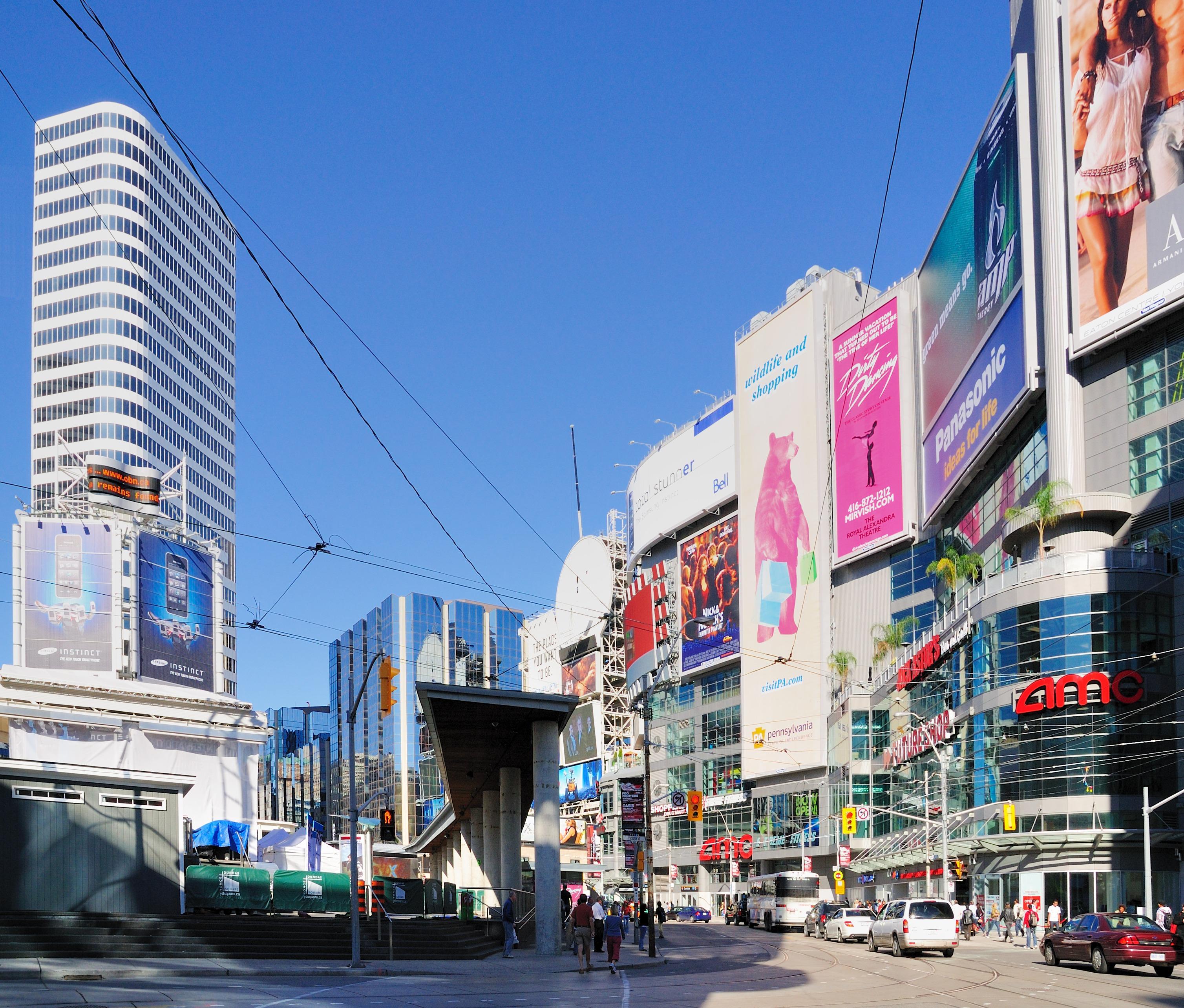 Beautiful photos of Yonge-Dundas Square in Toronto   BOOMSbeat