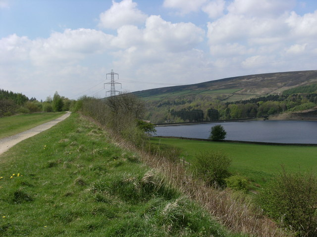Torside Reservoir and Longdendale Trail - geograph.org.uk - 1277567
