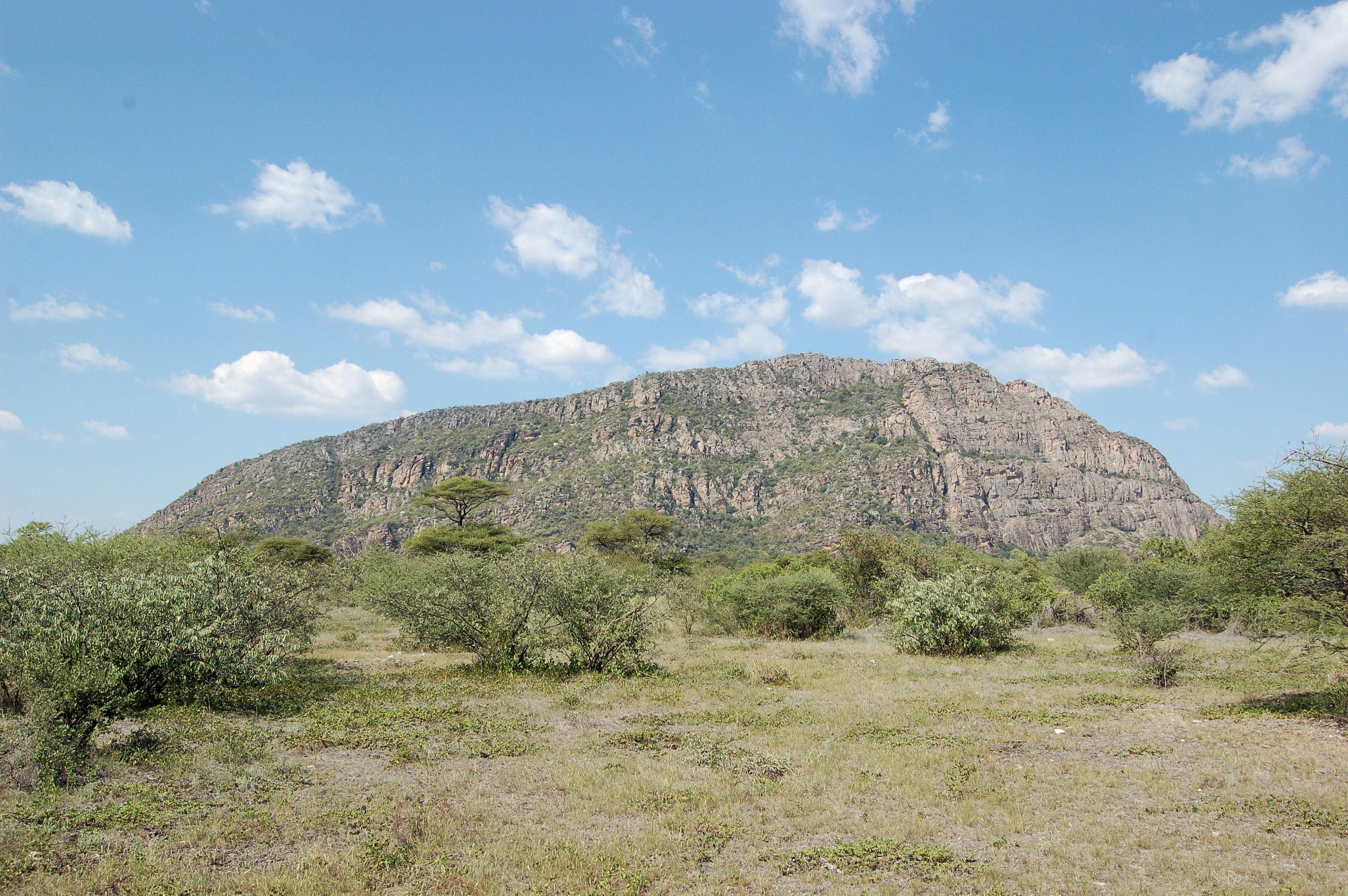 Tsodilo åsene i Botswana