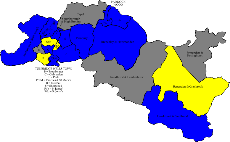 Tunbridge Wells Borough Council Election 2010 Wikipedia
