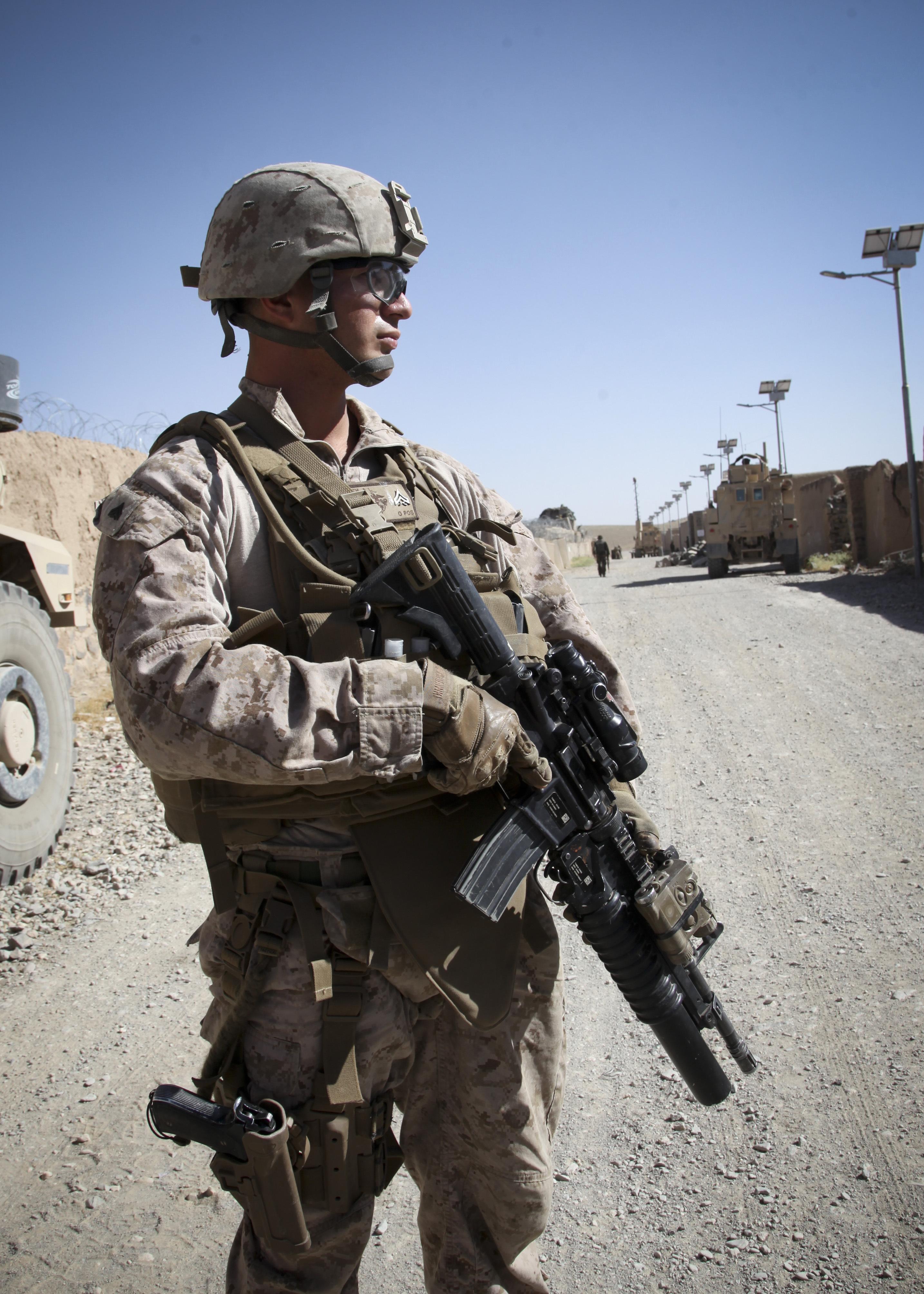 File:U.S. Marine Corps Cpl. Abraham Porath, assigned to ...