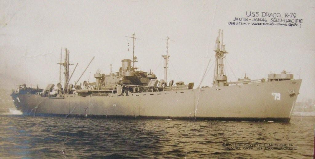 USS Draco (AK-79), Puget Sound, August 1945