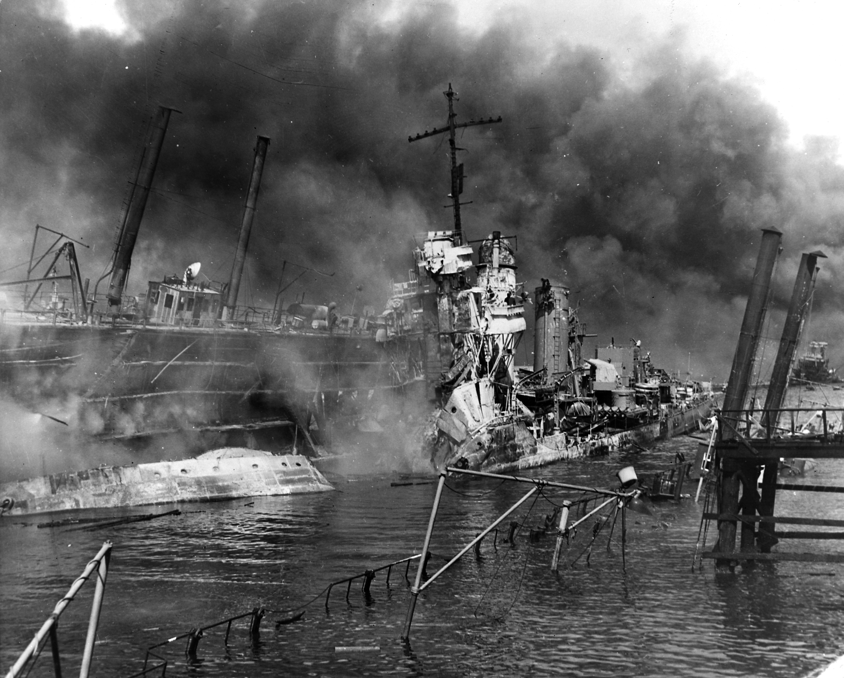 the japanese attack on pearl harbor On december 7, 1941, the imperial japanese navy launched a surprise conventional attack against the us pacific fleet moored at pearl harbor the japanese operation was part of a larger strategy .