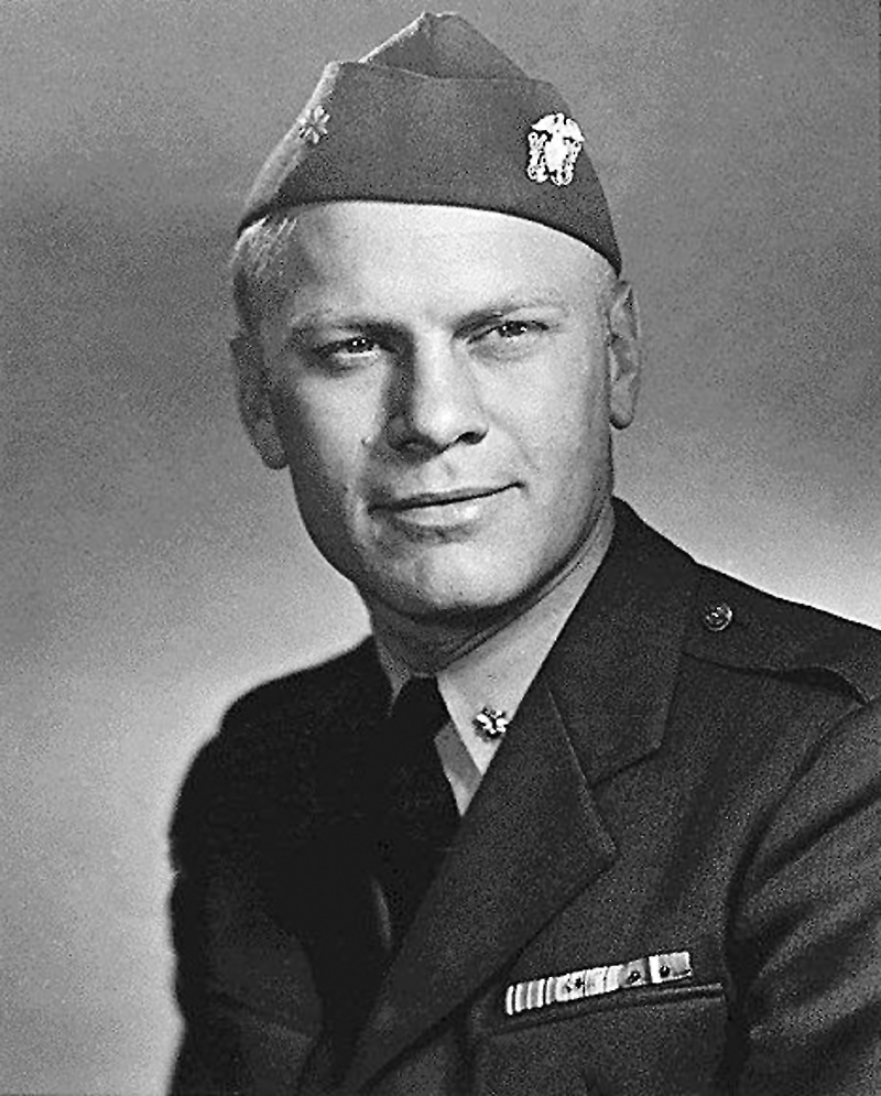 File Us Navy 061227 N 0000x 003 Lt Cmdr Gerald Ford In